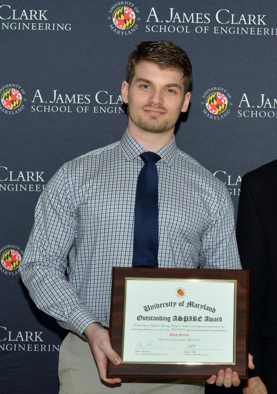 Adam Ferrick award 2018